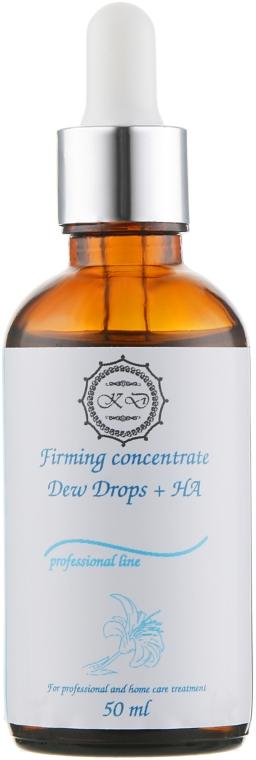 Капли для лица с гиалуроновой кислотой - KleoDerma Firming Concentrate Dew Drops