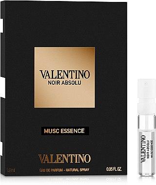 Valentino Noir Absolu Musc Essence - Парфюмированная вода (пробник)