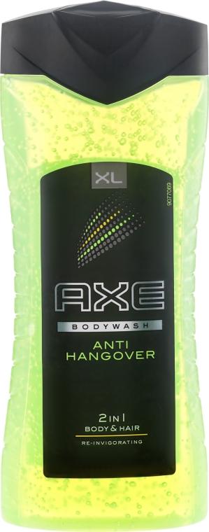 """Гель-шампунь 2в1 для волос и тела """"Перезагрузка"""" - Axe Shower Gel Anti-Hangover"""