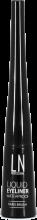 Духи, Парфюмерия, косметика Жидкая подводка для глаз, твердая кисточка - LN Professional Liquid Waterproof Eyeliner Hard Brush