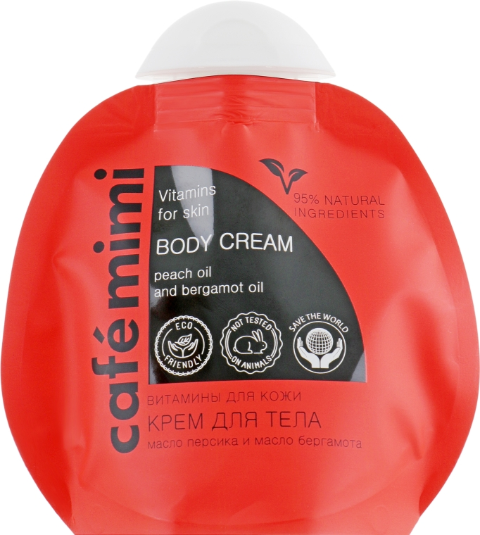 "Крем для тела ""Витамины для кожи"" - Cafe Mimi Body Cream"