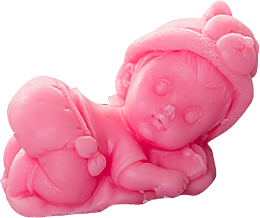 "Духи, Парфюмерия, косметика Мыло детское ""Младенец на подушке"", розовое - LaQ Happy Soaps"
