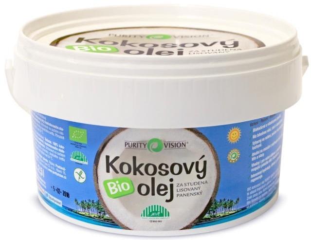 Кокосовое масло холодного отжима - Purity Vision Bio Virgin Cold Pressed Coconut Oil