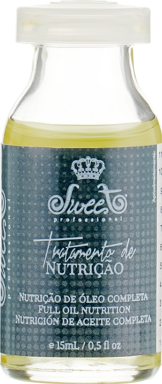 Ампула питания с маслами - Sweet professional Ampule Line Nutrition Treatment (Oil)