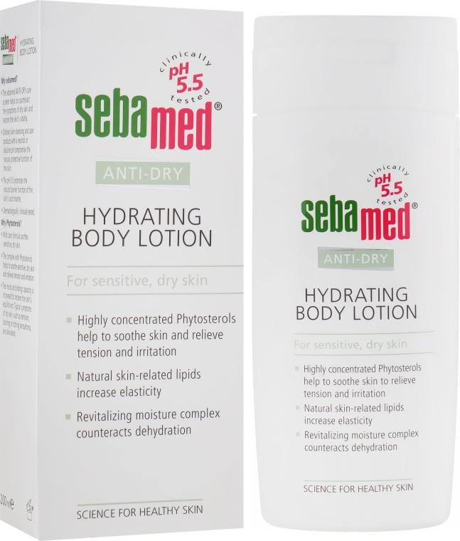 Лосьон для тела увлажняющий - Sebamed Anti-Dry Hydrating Body Lotion