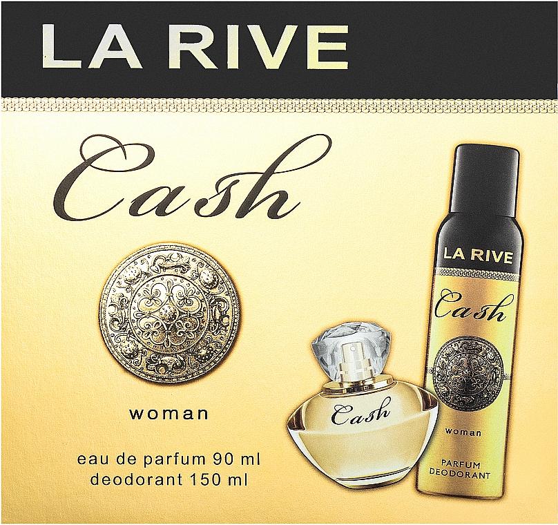 La Rive Cash Woman - Набор (edp/90ml + deo/150ml)