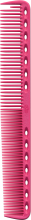 Парфумерія, косметика Гребінець для стрижки, 180мм - Y.S.Park Professional 339 Cutting Combs Pink
