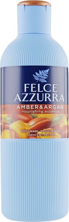 Гель для душа - Felce Azzurra Ambra & Argan Nourishing Essence