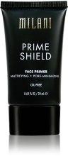 Духи, Парфюмерия, косметика Матирующий праймер для лица - Milani Prime Shield Face Primer Mattifying + Pore-minimizing