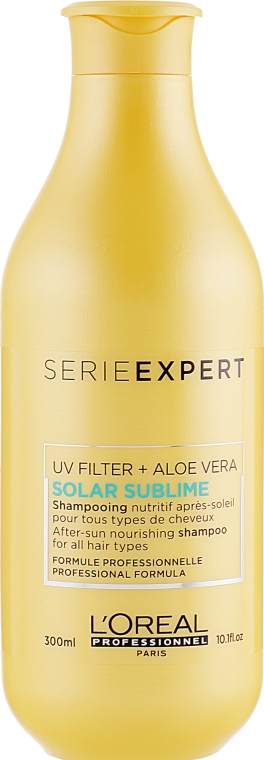 Шампунь для волос после солнца - L'oreal Professionnel Serie Expert Solar Sublime After Sun Protect Shampoo