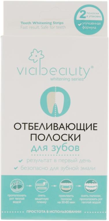 Отбеливающие полоски для зубов - Viabeauty