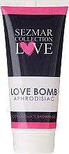 Духи, Парфюмерия, косметика Гель для душа и интимной гигиены - Hristina Cosmetics Sezmar Collection Love Aphrodisiac Shower Gel Love Bomb