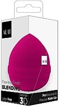 Духи, Парфюмерия, косметика Спонж для макияжа, розовый - Auri Flawless Finish Blending Sponge 3D