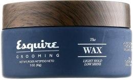 Духи, Парфюмерия, косметика Воск для укладки волос слабой фиксации - CHI Esquire Grooming The Wax Light Hold Low Shine