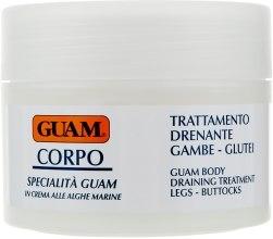 Духи, Парфюмерия, косметика Крем для ног с дренажным эффектом - Guam Specialistica