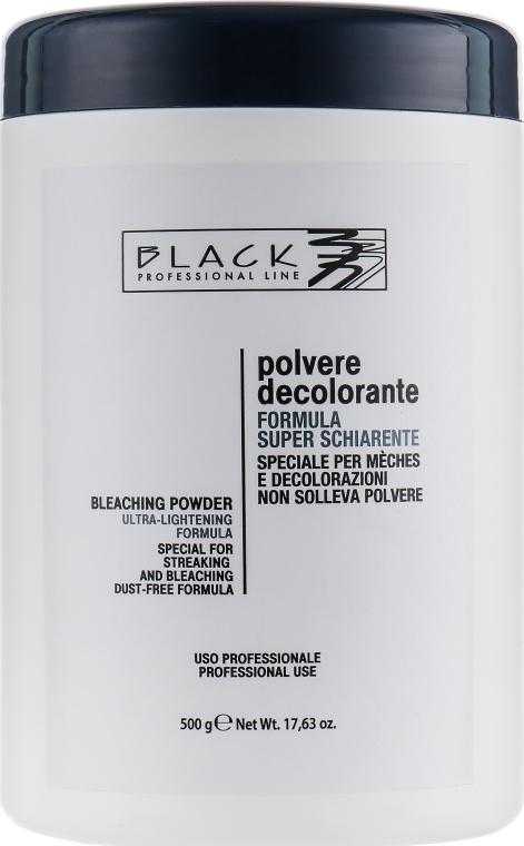 Порошок для осветления волос, синий (банка) - Black Professional Line Bleaching Powder Blue