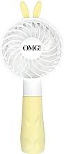 Духи, Парфюмерия, косметика Ручной вентилятор для сушки масок, желтый - Double Dare Mini Beauty Fan Yellow
