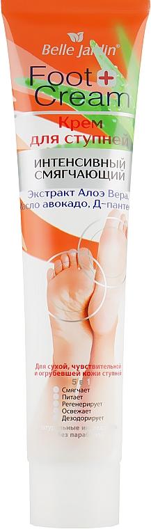 Крем для ступней с экстрактом алоэ масло авокадо - Belle Jardin Hand & Foot Cream