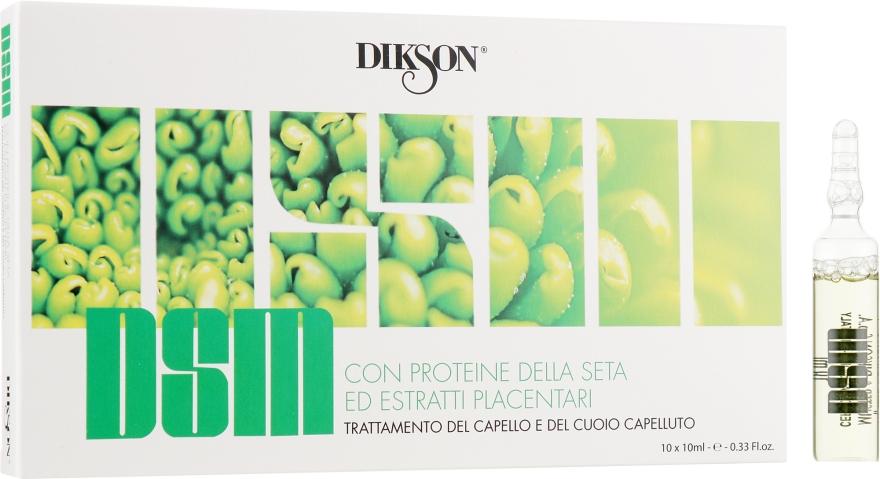 Ампульное средство с протеинами для волос - Dikson DSM