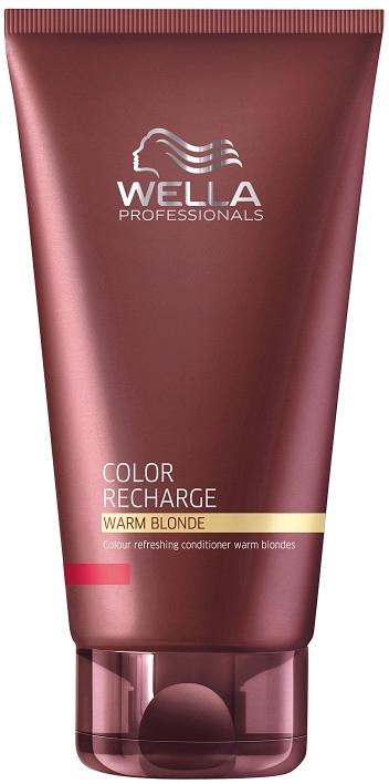 Бальзам для освежения и поддержания цвета теплых светлых оттенков - Wella Professionals Color Recharge Warm Blonde