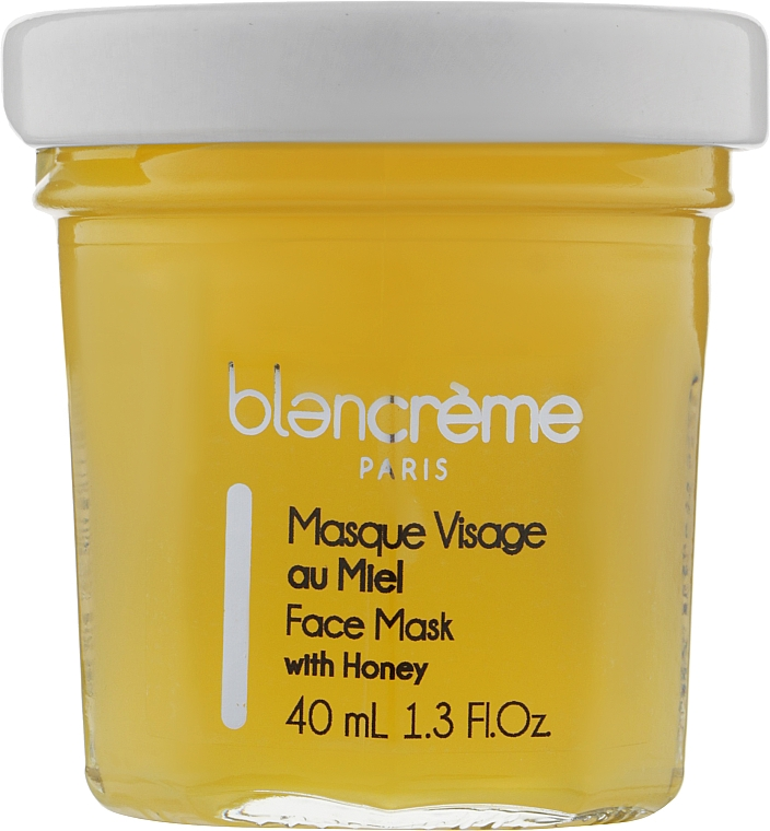 "Маска для лица восстанавливающая ""Мед"" - Blancreme Honey Face Mask Nourishing And Repairing"