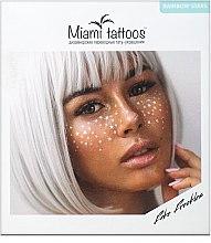 Духи, Парфюмерия, косметика Переводные тату-веснушки - Miami Tattoos Rainbow Stars