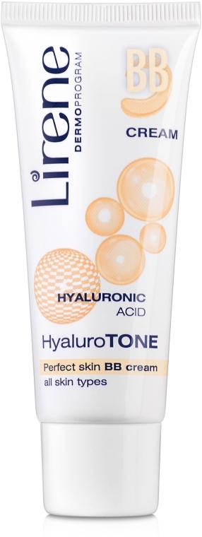 "BB-крем ""Идеальная кожа"" - Lirene Hyaluro Tone BB-cream Lirene"