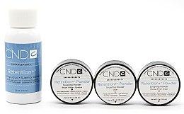 Духи, Парфюмерия, косметика Набор акриловый - CND Retention+ Trial Pack (powder/3x3.2g+sculpting/29ml)