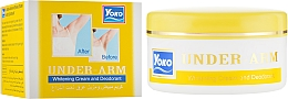 Духи, Парфюмерия, косметика Отбеливающий крем-дезодорант - Yoko Under-Arm Whitening