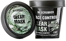 Духи, Парфюмерия, косметика Маска для лица с экстрактом алоэ вера и окопника - Mr.Scrubber Fase Control Clear Mask