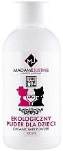 Духи, Парфюмерия, косметика Детская присыпка - Madame Justine Sweet Me Organic Baby Powder