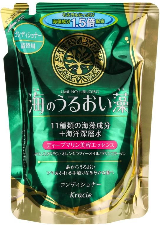Бальзам-ополаскиватель с экстрактами морских водорослей - Kanebo Umi No Uruoiso Balsam (сменный блок)