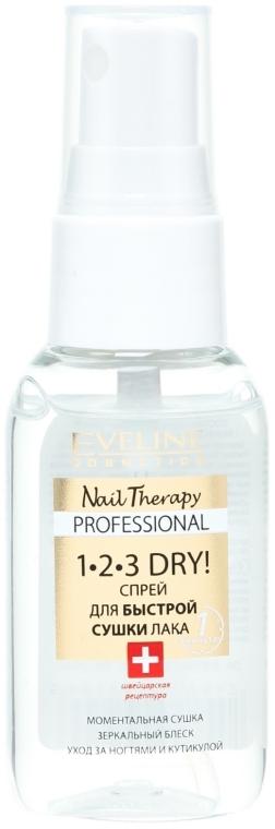 Спрей для быстрой сушки лака - Eveline Cosmetics Nail Therapy