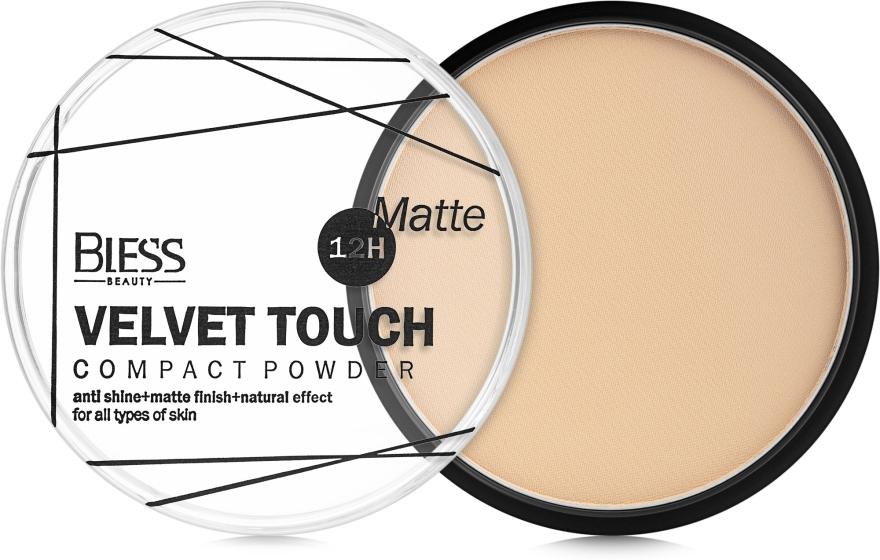 Компактная пудра для лица - Bless Beauty Velvet Touch Compact Powder