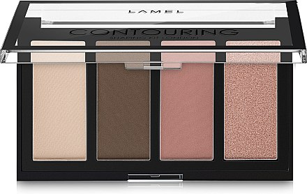 Набор для макияжа - Lamel Professional Contouring Shaping Kit (тестер)