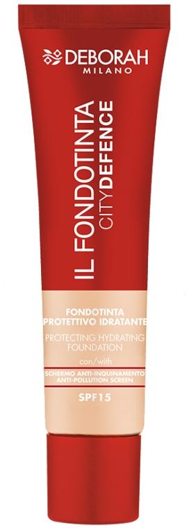 Защитная тональная основа для лица - Deborah IL Fondotinta SPF 15