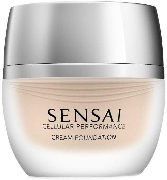 Тональный крем для лица - Kanebo Sensai Cellular Performance Cream Foundation — фото N1