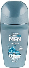 Духи, Парфюмерия, косметика Шариковый дезодорант-антиперспирант - Oriflame North For Men Subzero Deodorant Roll-On