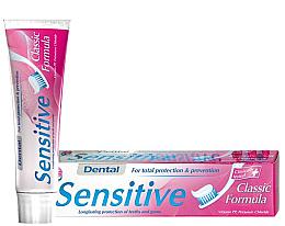 Духи, Парфюмерия, косметика Зубная паста для чувствительных зубов - Dental Sensitive Classic Formula