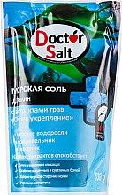 """Парфумерія, косметика Морська сіль для ванн """"Загальне зміцнення"""", з екстрактами трав - Aqua Cosmetics Doctor Salt"""
