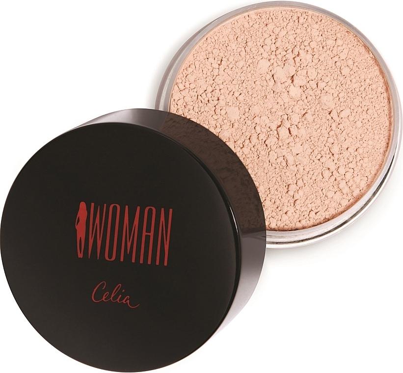 Рассыпчатая пудра для лица - Celia Woman Loose Powder