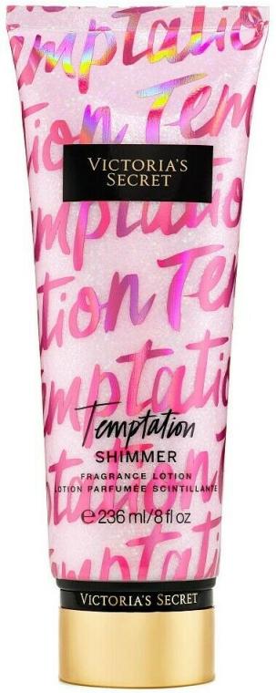 Парфюмированный лосьон для тела - Victoria's Secret Temptation Shimmer Body Lotion