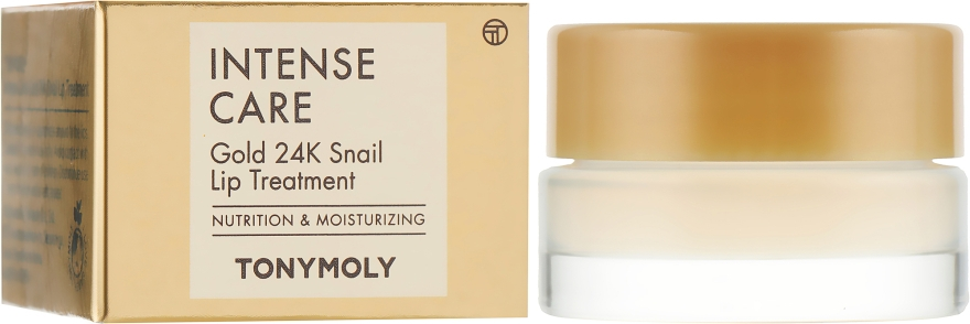 Бальзам для губ - Tony Moly Intense Care Gold 24K Snail Lip Treatment