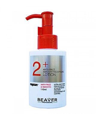 Увлажняющий разглаживающий лосьон для сухих и непослушных волос с легкой фиксацией - Beaver Professional Anti-Frizz Smoothing Styling Lotion