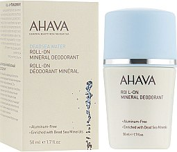 Парфумерія, косметика Мінеральний роликовий дезодорант - Ahava Dead Sea Water Roll-On Mineral Deodorant