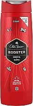 Духи, Парфюмерия, косметика Гель-шампунь для душа - Old Spice Booster Shower Gel + Shampoo