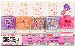 "Духи, Парфюмерия, косметика Набор лаков для ногтей ""Конфетти"" - Create It! Nail Polish Confetti (nail/polish/5x8ml)"
