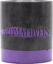 "Ароматическая соевая свеча в бетоне ""Лаванда"" - Aromalovers — фото N2"