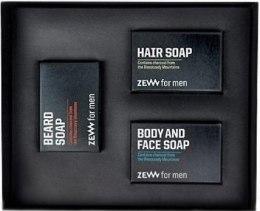 Духи, Парфюмерия, косметика Набор - Zew The Bearded Man's Holiday Must Have Box (soap/85mlx3)