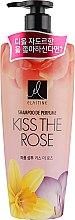 Духи, Парфюмерия, косметика Парфюмированный шампунь для волос - LG Household & Health LG Elastine Kiss The Rose Shampoo